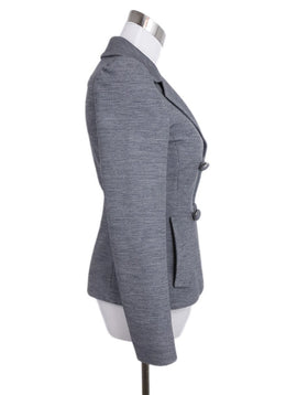 Prada Grey Wool Jacket 2