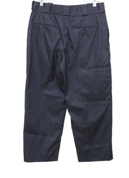 Prada Navy Nylon Pants Sz 8