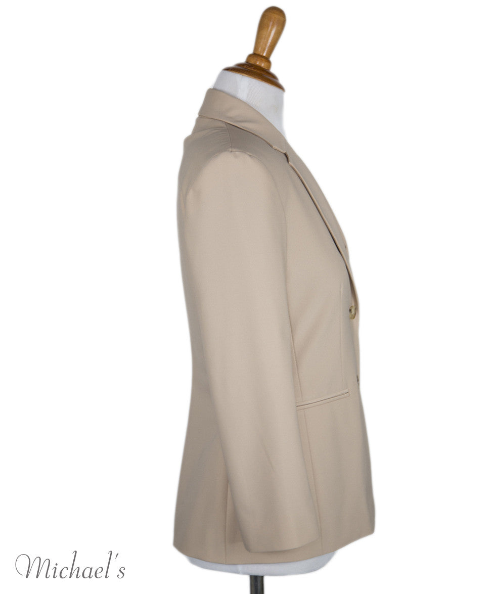 The Row Beige Rayon Jacket Sz 0 - Michael's Consignment NYC  - 2