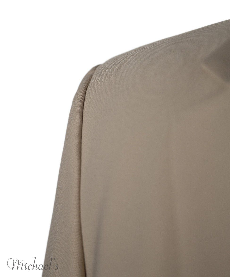 The Row Beige Rayon Jacket Sz 0 - Michael's Consignment NYC  - 4
