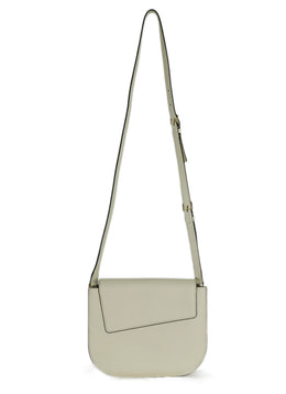 "Valextra ""Twist"" Off White Leather Crossbody 2"