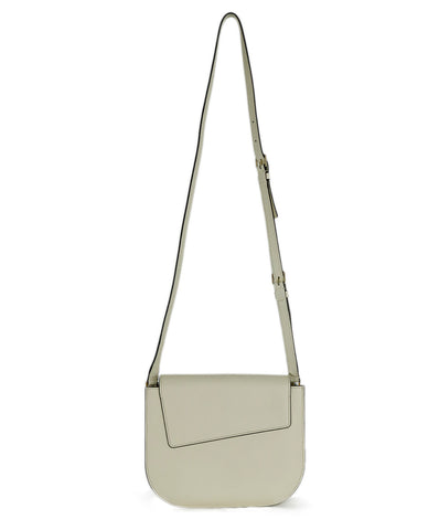 "Valextra ""Twist"" Off White Leather Crossbody 1"
