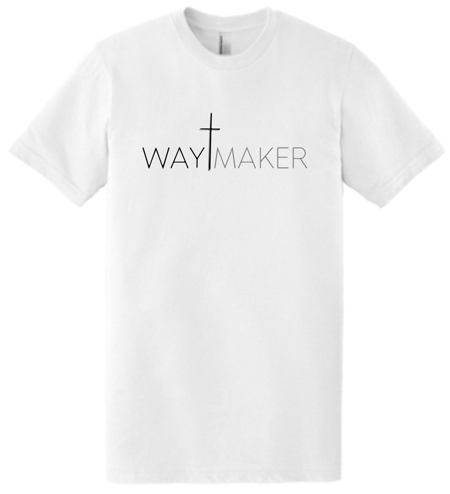 WayMaker Basic White Tee