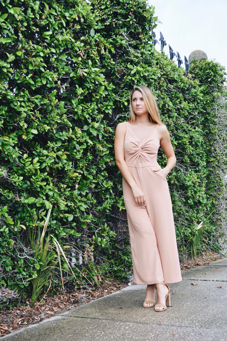 Peach Bellini Jumpsuit
