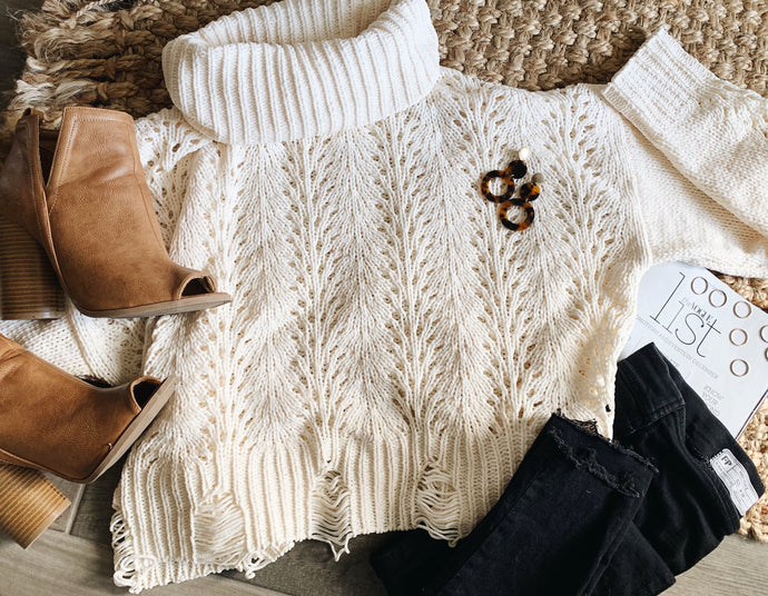 White Chocolate Mocha Sweater