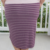 Madison in Purple Stripe