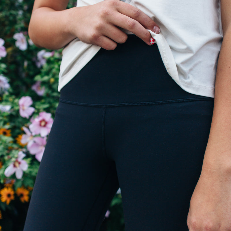 Every Day Capris in Black *Small to Large*