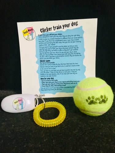 Clicker train your dog