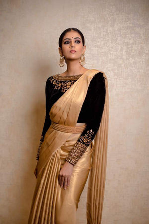 Golden Saree