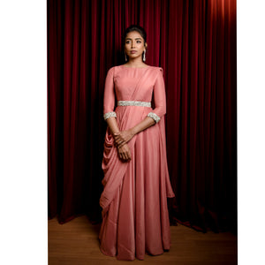 Powder Pink Drape