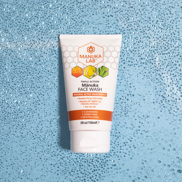 Triple Action Face Wash - Manuka Lab