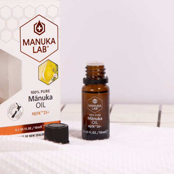 100% Pure New Zealand Mānuka Oil MßTK™ 25+ - Manuka Lab
