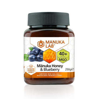Mānuka Honey & Blueberry 40+ MGO 250G - Manuka Lab UK