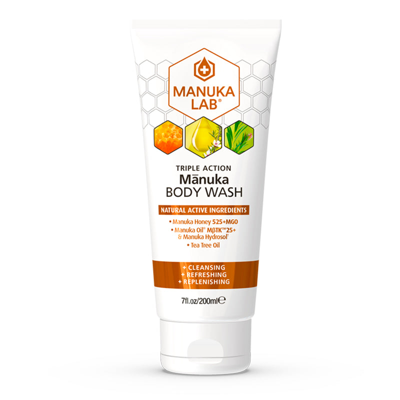 Triple Action Body Wash - Manuka Lab