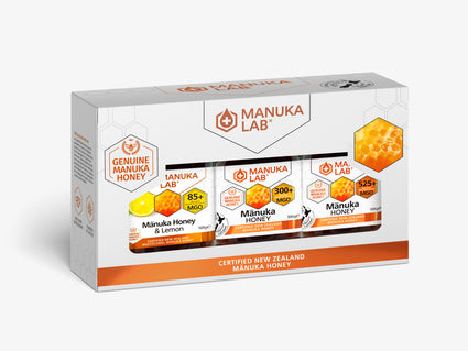Mānuka Honey Variety Pack 500G x 3 - Manuka Lab