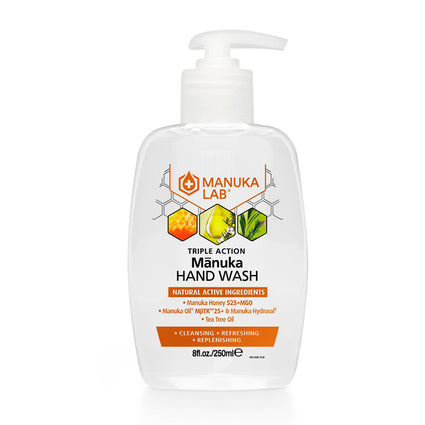 Triple Action Hand Wash - Manuka Lab UK
