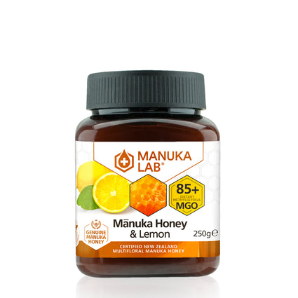 Mānuka Honey 85+ MGO Lemon 250G - Manuka Lab UK
