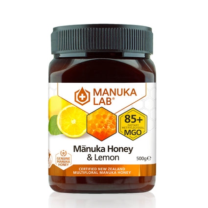 Mānuka Honey 85+ MGO Lemon 500G - Manuka Lab UK