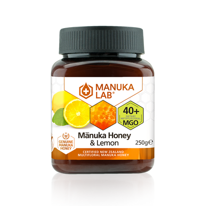 Mānuka Honey & Lemon 40+ MGO 250G - Manuka Lab