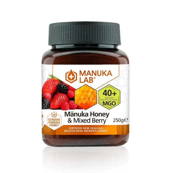 Mānuka Honey & Mixed Berry 40+ MGO 250G - Manuka Lab