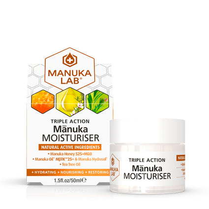 Triple Action Moisturiser - Manuka Lab UK