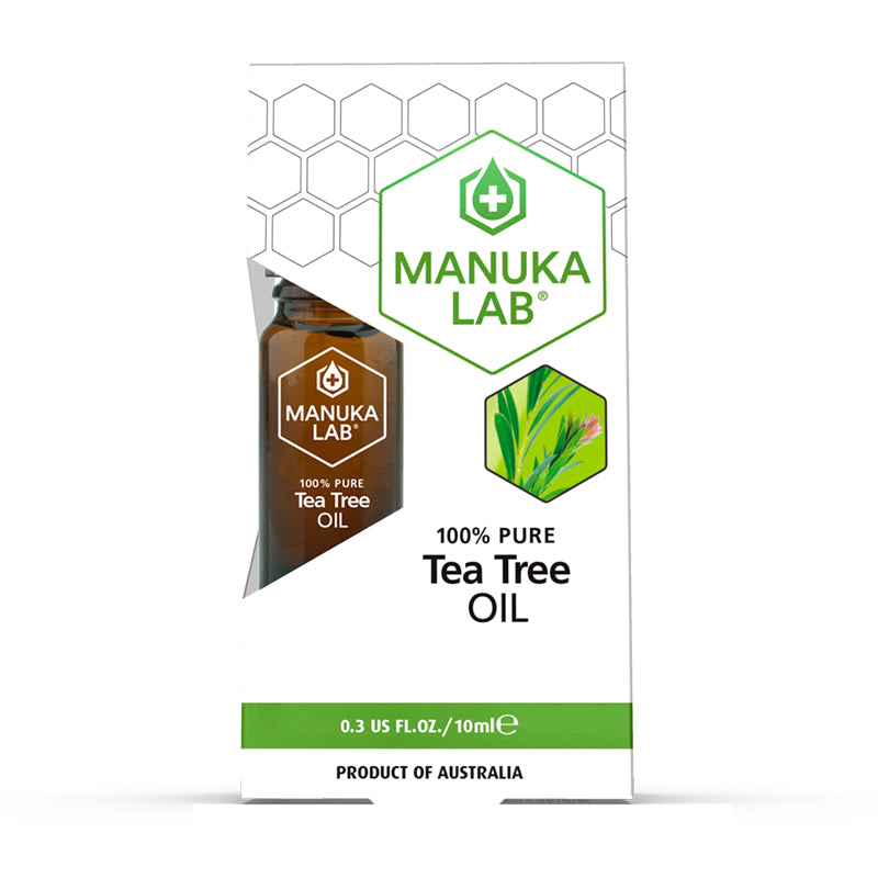 Tea Tree Essential Oil 100% Pure - Manuka Lab UK