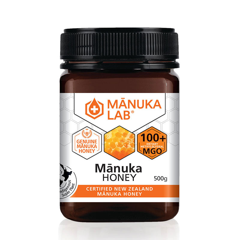 Mānuka Honey 100+ MGO 500G - Manuka Lab UK
