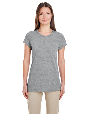 "Ladies Jerzees Performance T-Shirts  ""cotton feel""  Silk Screen"
