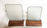 Award Plaques Glass Frosted