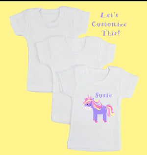 Baby & Toddler T-Shirts  w/ breathable prints