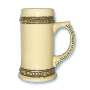 Beer Steins German Brown Trim