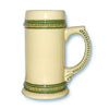 Beer Steins German Green Trim