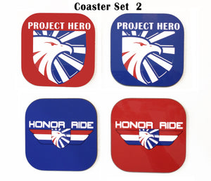 Project Hero Coaster Set #2