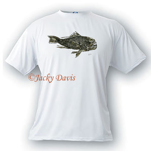 FishTales Rock Bass 2 Men's T-Shirts