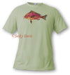 FishTales Pink Fish Men's T-Shirts
