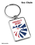 PROJECT HERO Eagle Crest  SS Key Chain