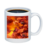 Lily Fire Orange Coffee Mug