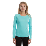 Ladies Solar Long Sleeve Curve Performance Shirts  Sublimation