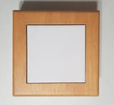 "Keepsake Box Maple Elite w/ 4""x4"" Tile"