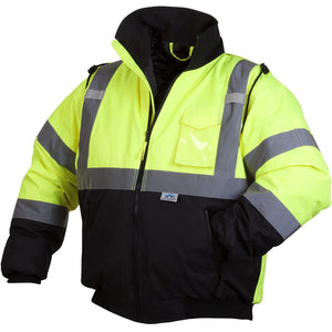 Safety Jacket with Reflective strips and Pockets