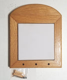 Pegged Wood Tile Frame