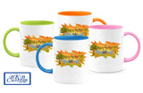 Safety Harbor Fun Color Coffee Mugs