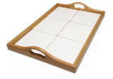 "Serving Tray Maple 6 Tiles 6""x6"""