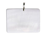 Mother of Pearl Pendant Square  Beautiful Jewelry!