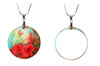 Mother of Pearl Pendant Round  Beautiful Jewelry!