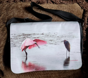 Spoonbill Purse Black Large