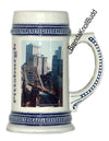 Beer Steins German Blue