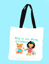 Play is the Work of Children Tote