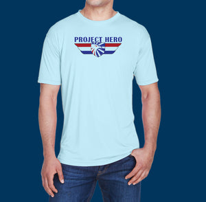 Project Hero Wings Men's Cool & Dry Performance T-Shirt