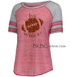 "Ladies Football Jersey ""In it to Win it !"""